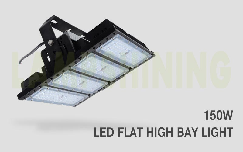 150w led flat high bay light