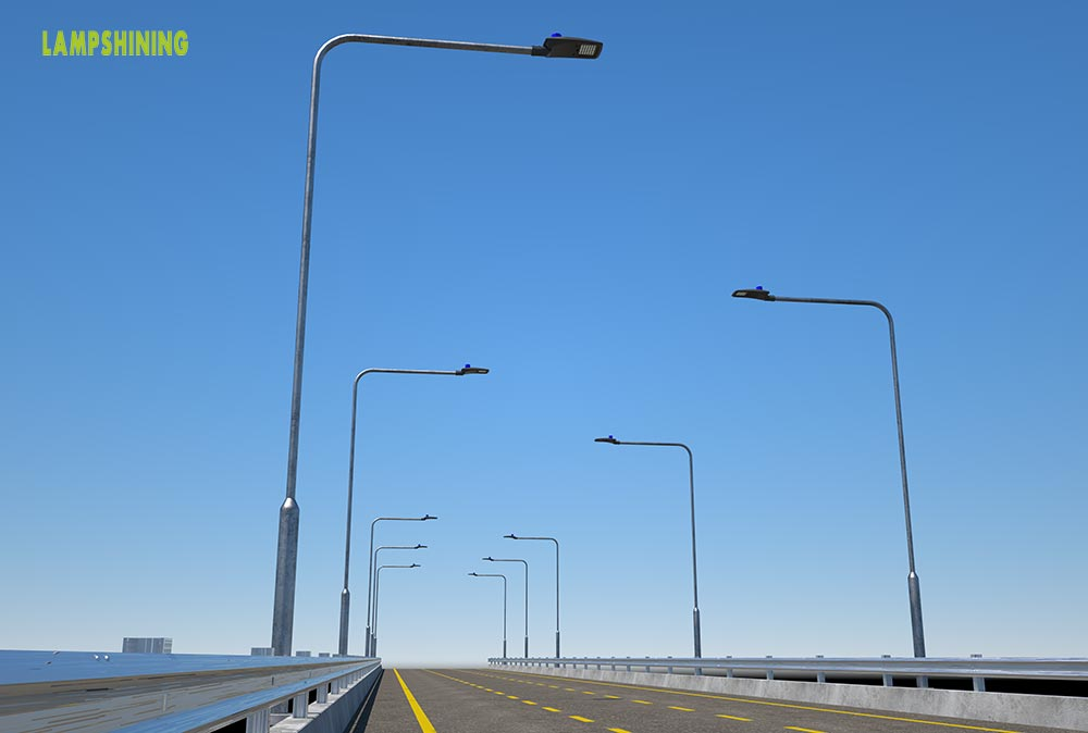 outdoor led roadway lighting