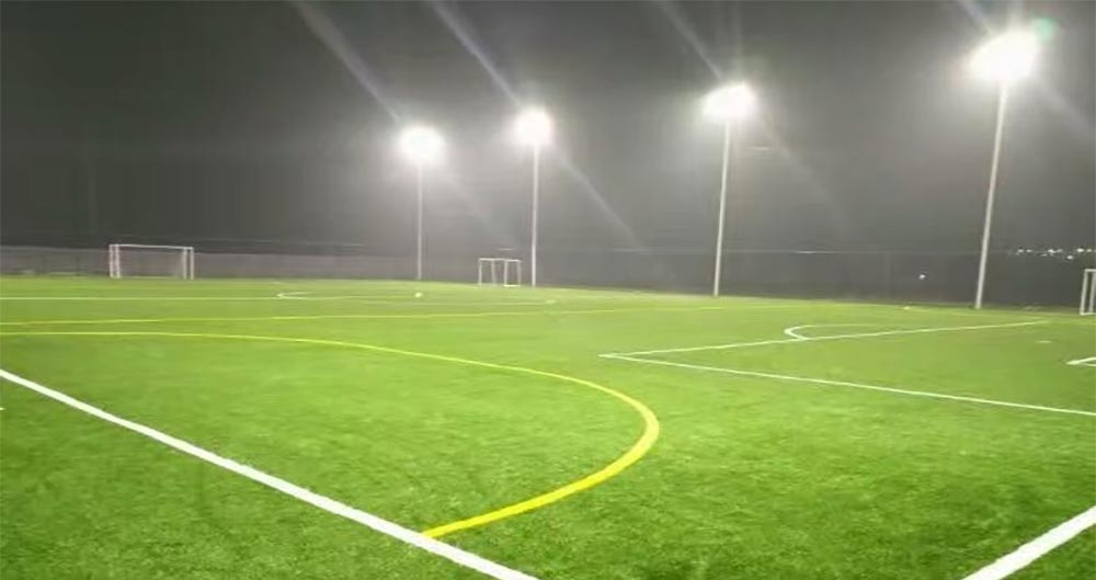 football field led lighting project