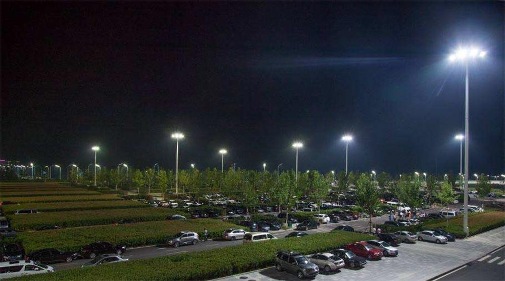 parking lot led high mast lighting