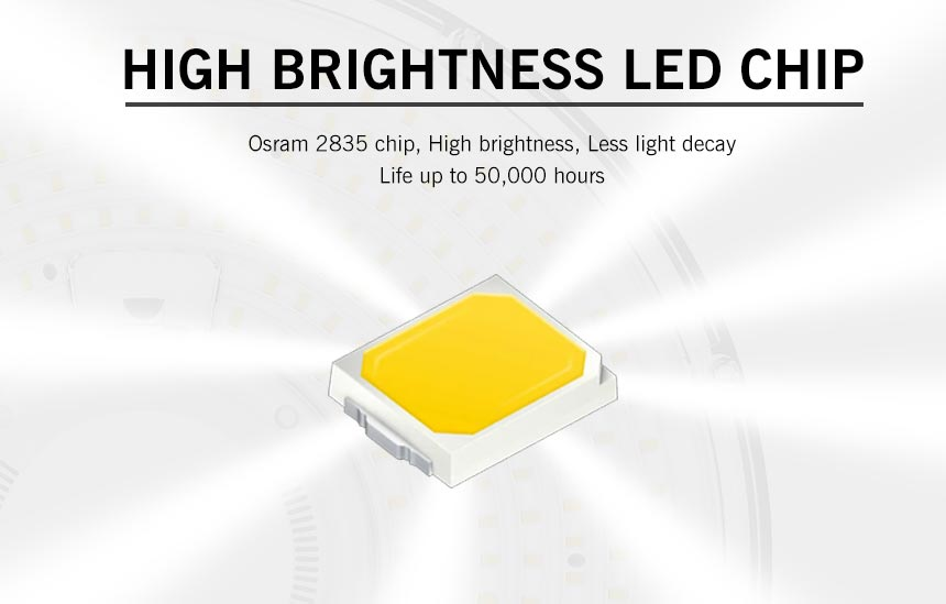 100w rgo ufo led high bay light uses high brightness osram 2835 chip
