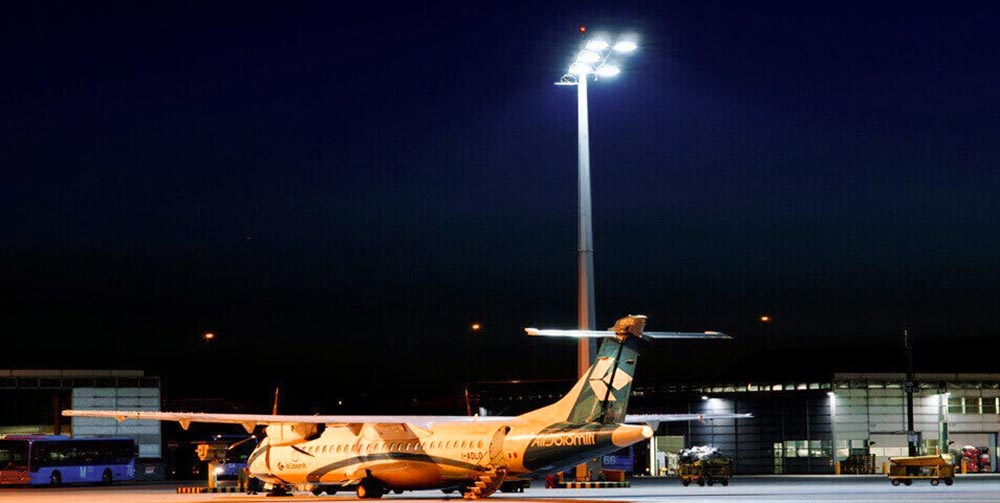 airport led high mast lighting