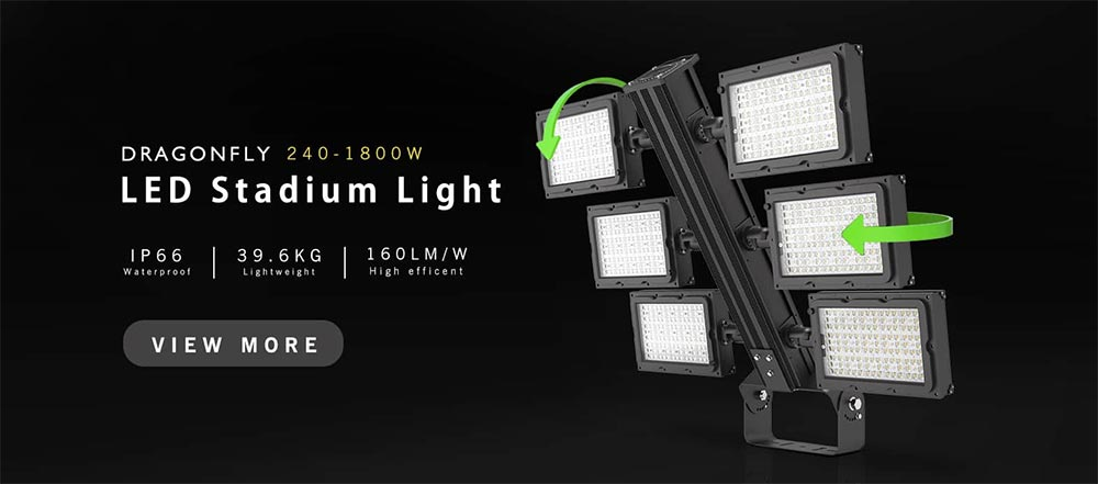led high mast light fixtures