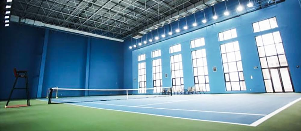 indoor tennis courts led flood lighting