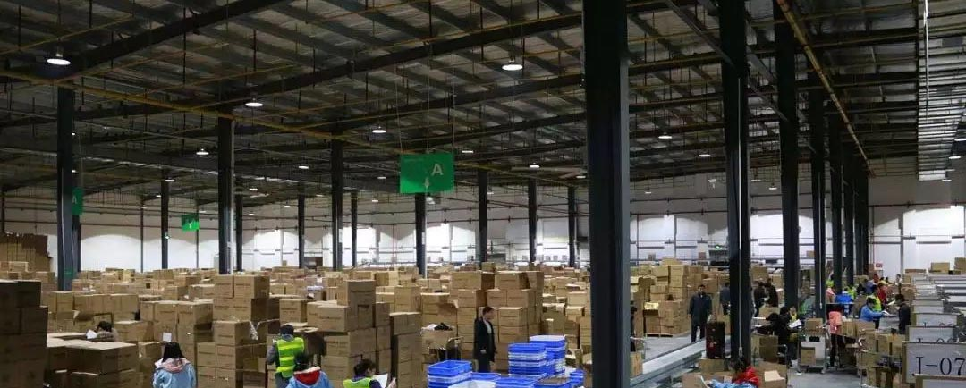 Business and industry warehouse led lighting