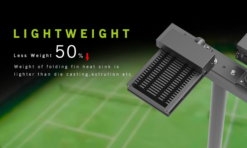 led sports light lightweight design