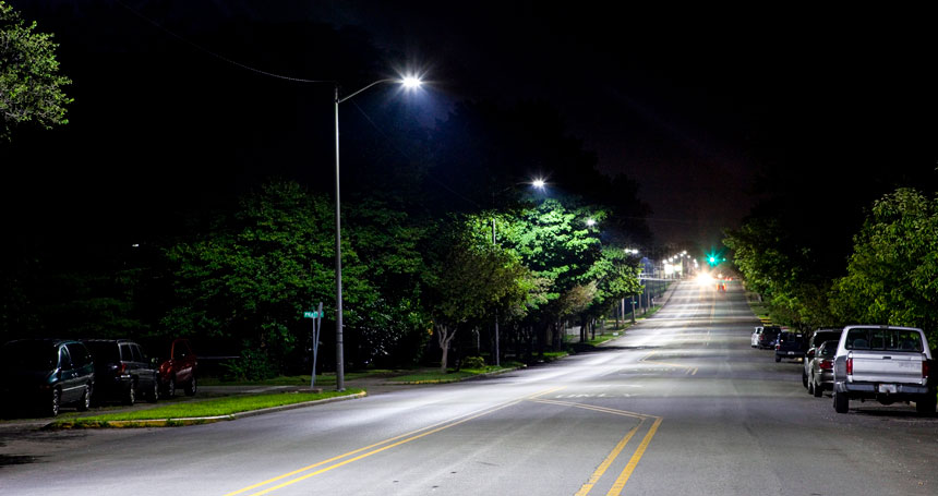 street led lighting application