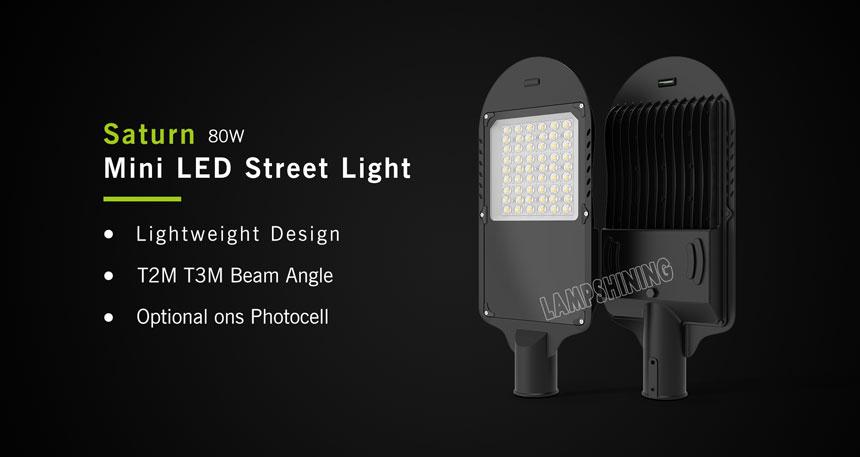 80w saturn led street light