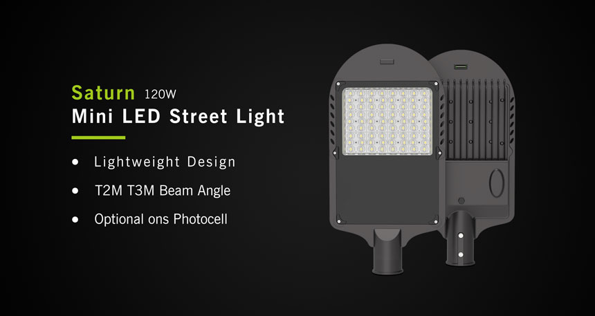 120w saturn led street light