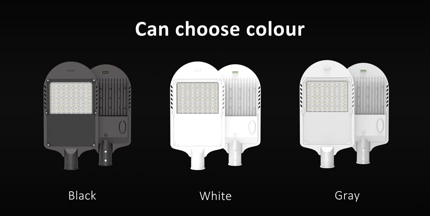 120w led street light can choose housing color