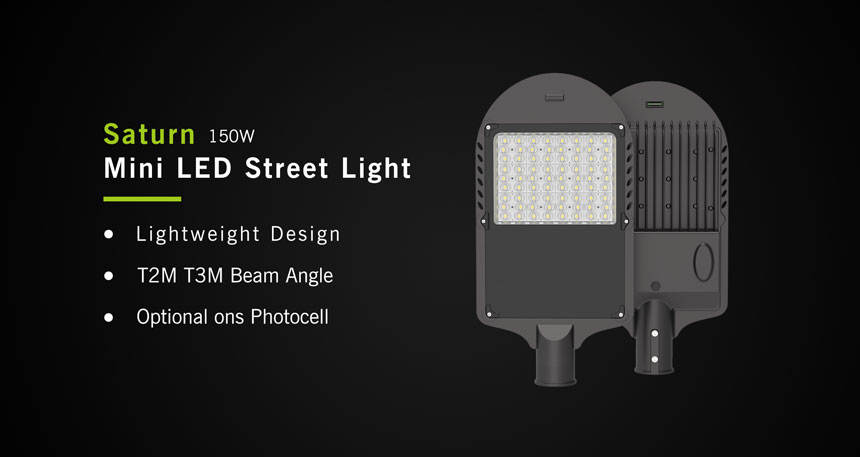 150w saturn led street light