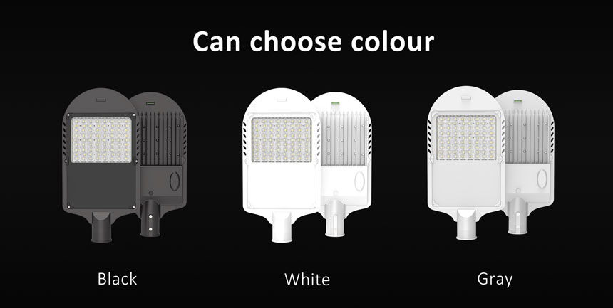 150w led street light can choose housing color