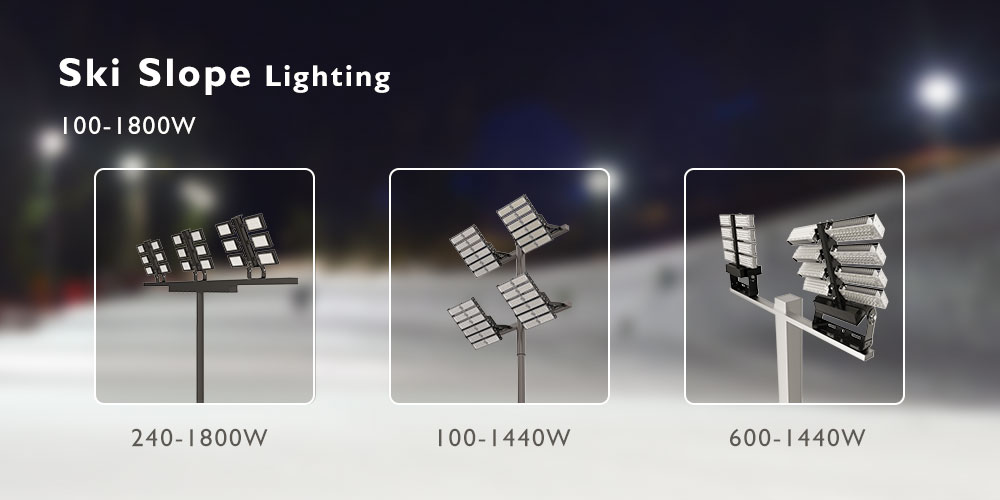 high quailty 100-1800w led high mast lights