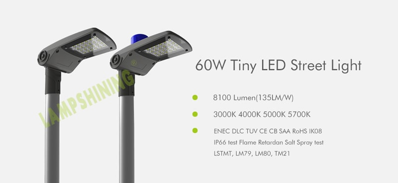 tiny 60w led street light