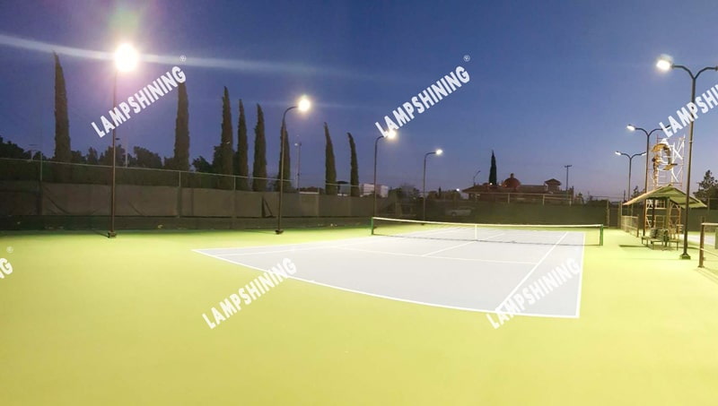 case of 300W 4000K 90degree Dragonfly LED High Mast Light for tennis court