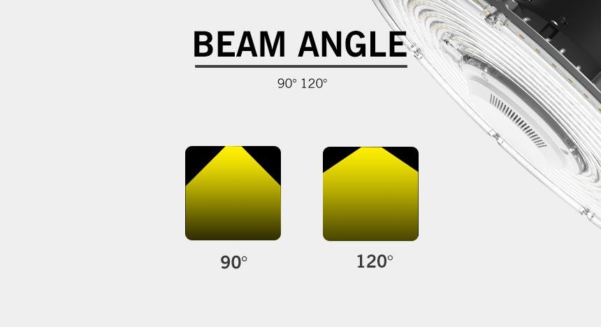 150W UFO LED High Bay Ligh beam angle