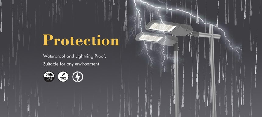 200w led street lights waterproof and lightning proof