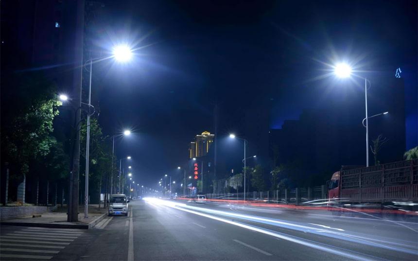 saturn led street light application