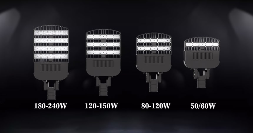 50w-240w venus led street lights