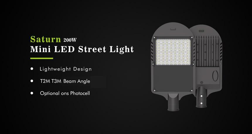 saturn 200w led street light