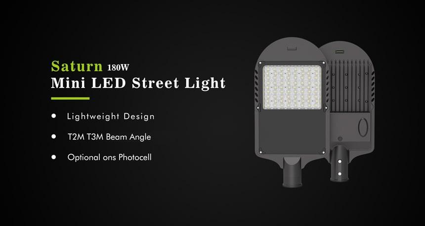 saturn 180w led street light