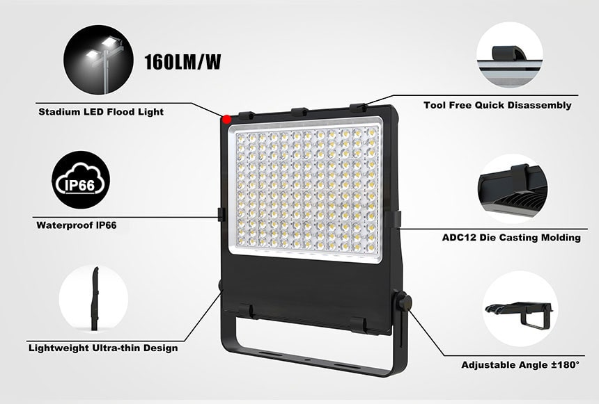 nemo 300w led flood light