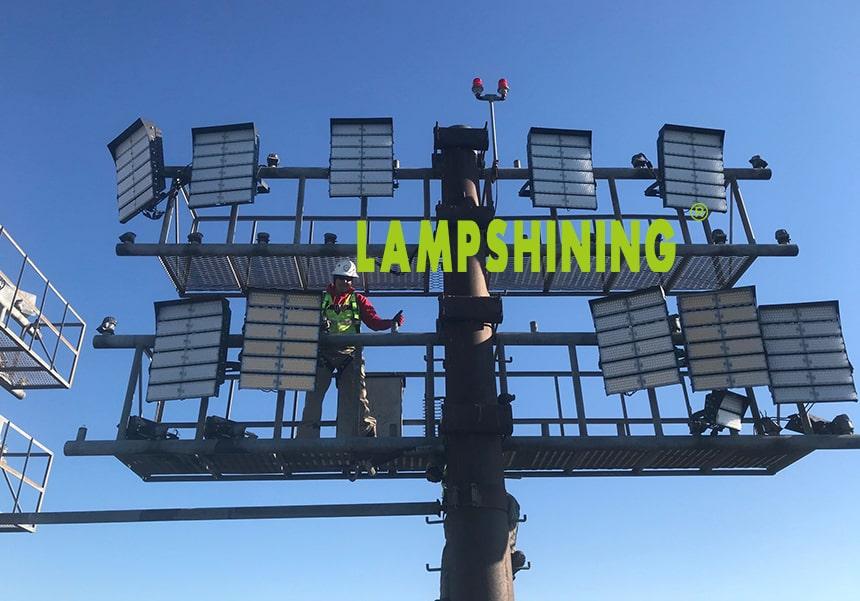 1440w led high mast light project