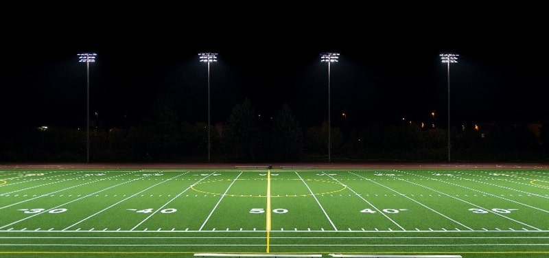 football court led lighting