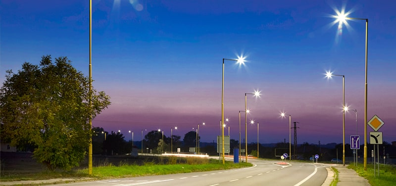 roadway led area lighting
