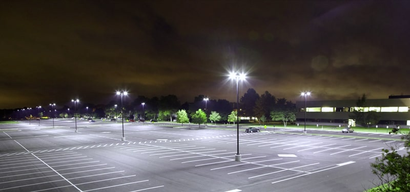 parking lot led area lighting