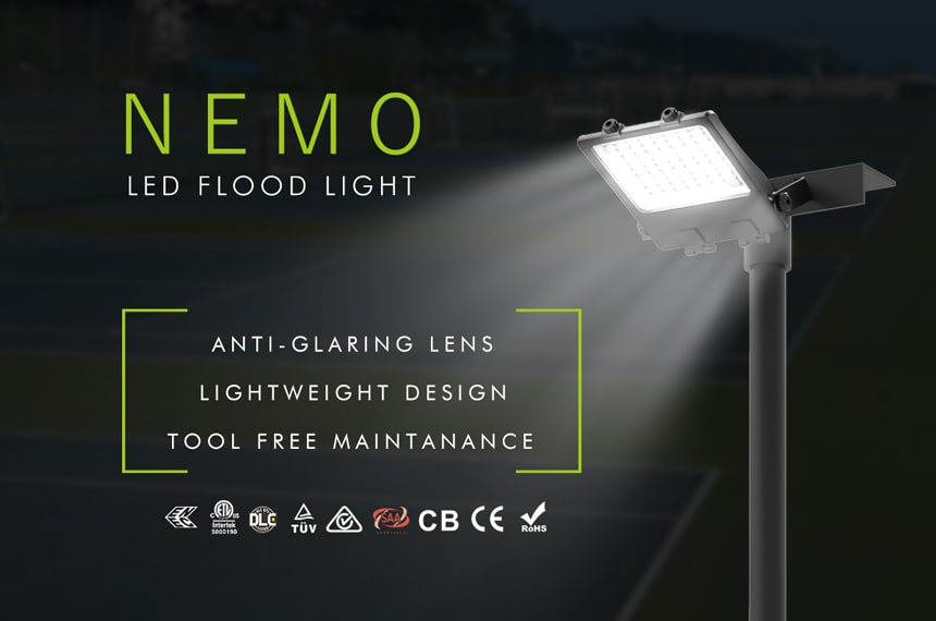 nemo 200w led flood light