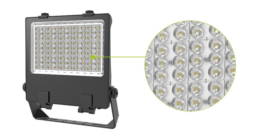 nemo 200w led flood light uses high quality led brand