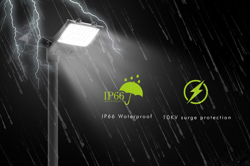 Waterproof lightning protection nemo led flood light