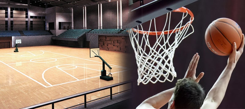 led lighting design and application for outdoor basketball court