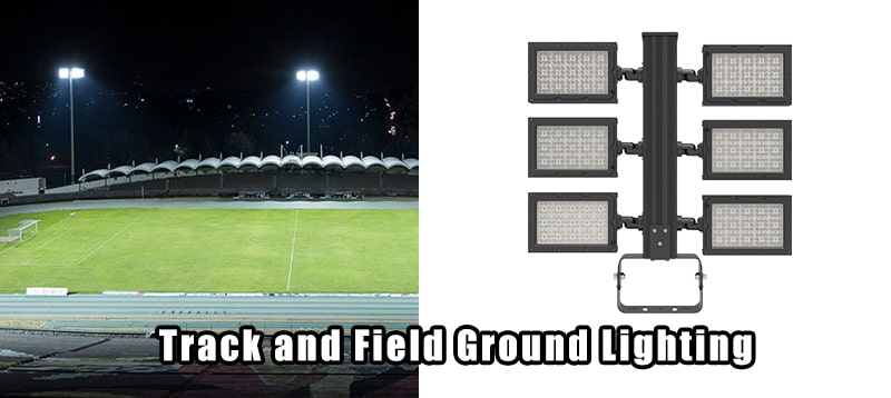 led Track and Field Ground Lights