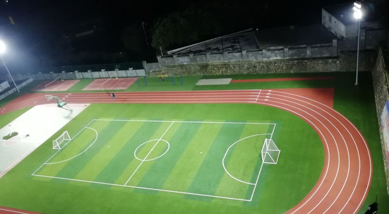 led Track and Field Ground Lighting