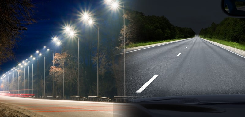 led street lighting application