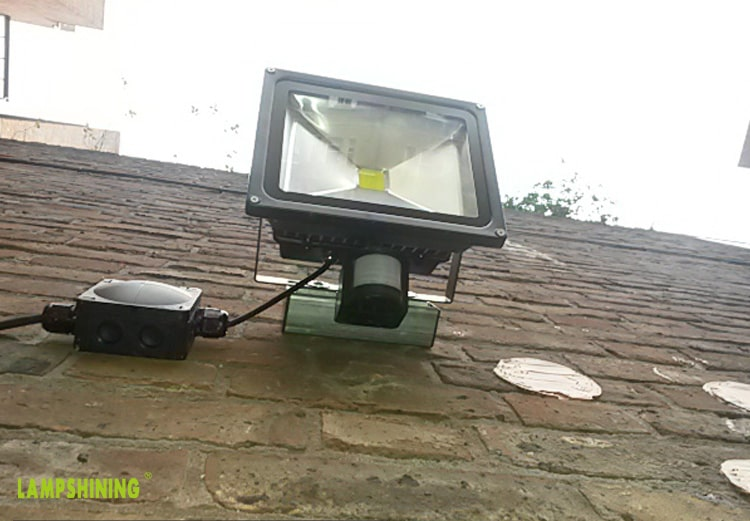 LED Flood Light wall Installation Security Light