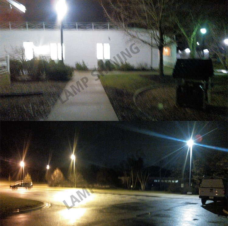 LED Retrofit Kits and LED Corn Bulb for Parking lot Light Retrofit