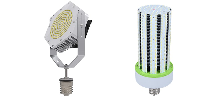 led retrofit kit and led corn bulb