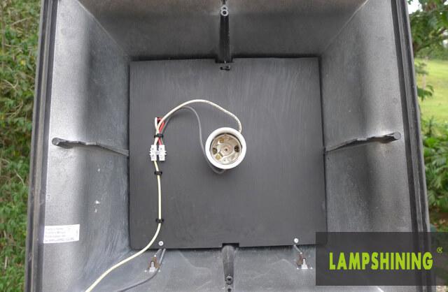E39 60W LED Corn Bulb for Garden Post Top Globe Retrofit