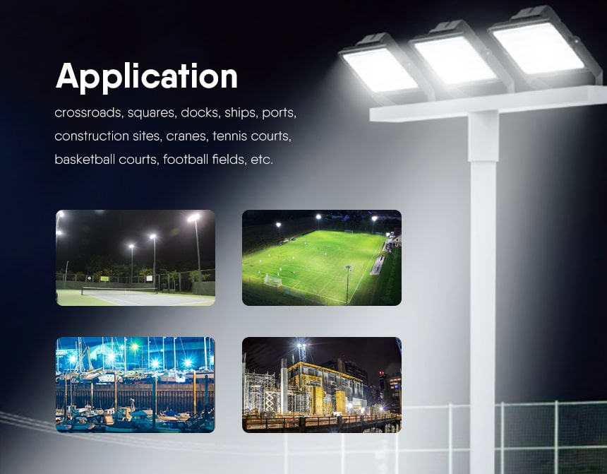 LED Sports Field Lights application