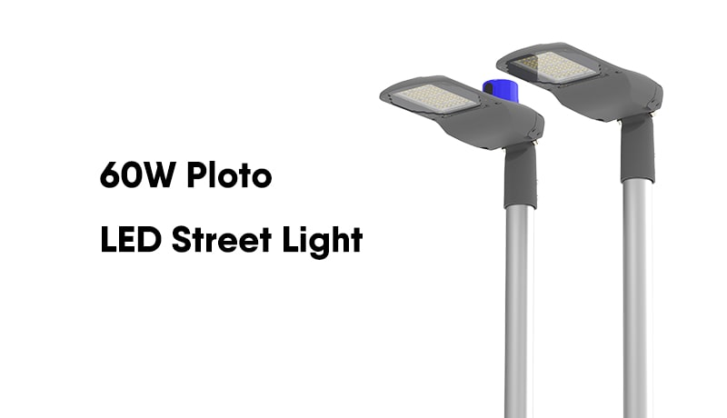 pluto 60w led street light