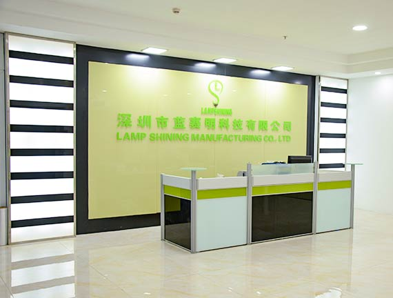 LED Light Manufacturer Lamp shining
