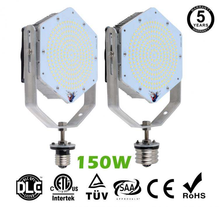 150W LED Retrofit Kits for 500W Metal Halide Fixtures 20,000Lm Parking Lot Lighting Retrofit