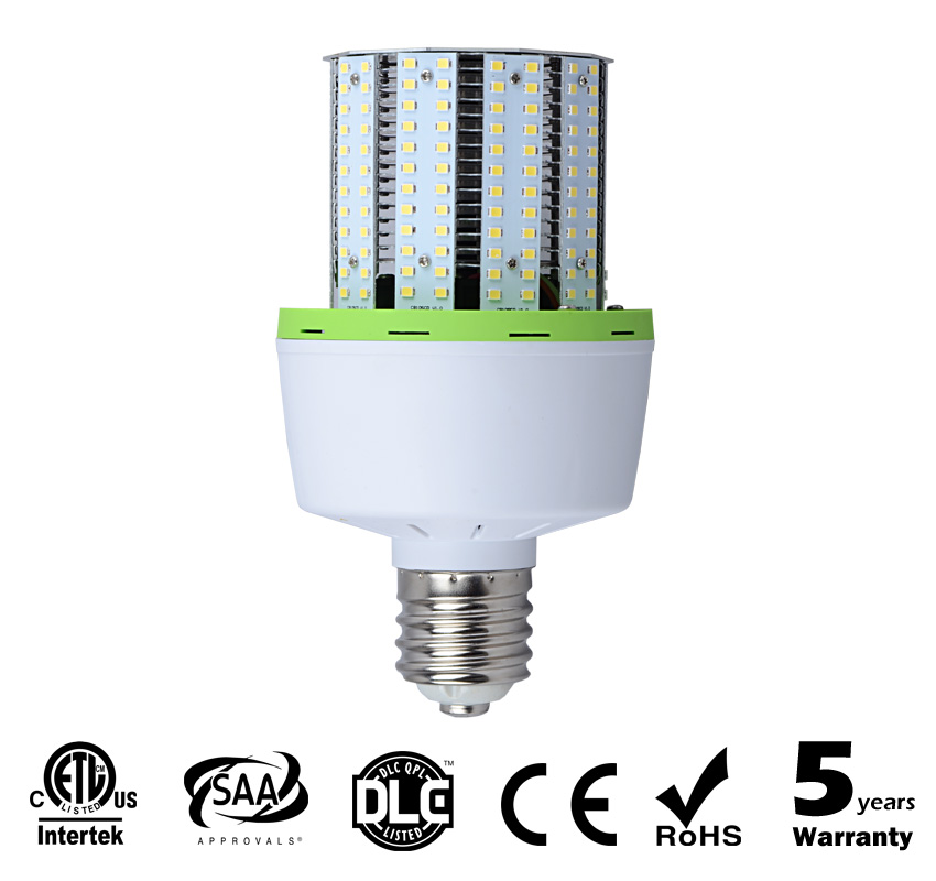 40W Short Version LED Corn Bulbs 5200Lm Equal 150W HID
