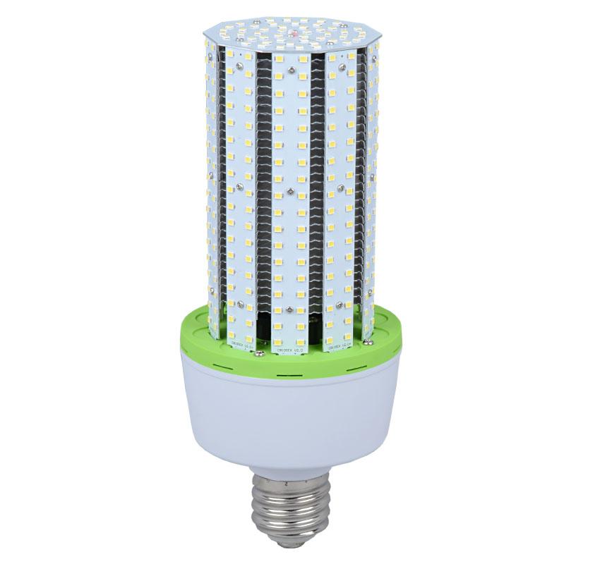 60W LED Corn Bulbs AC 347V 480V 7,700Lm 130Lm/W Equal 225W HID