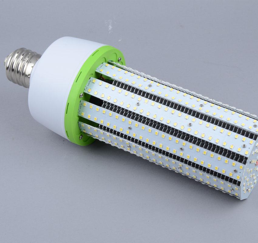 70W LED Corn Bulbs AC 347V 480V 9,100Lm 130Lm/W Equal 250W HID