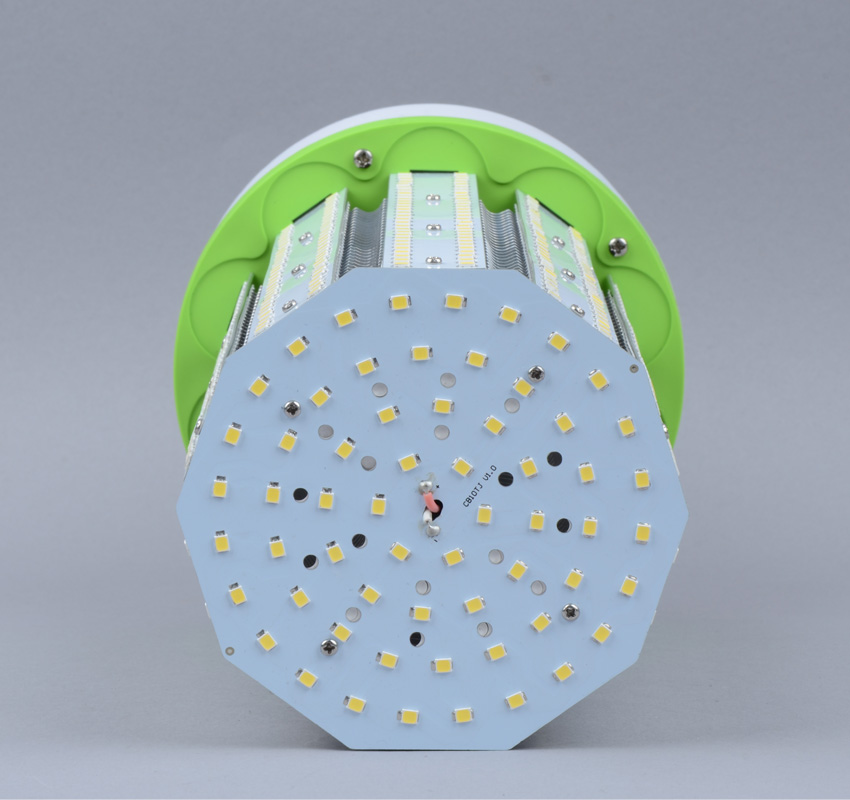 100W LED Corn Bulbs AC 347V 480V 13000Lm 130Lm/W Equal 400W HID