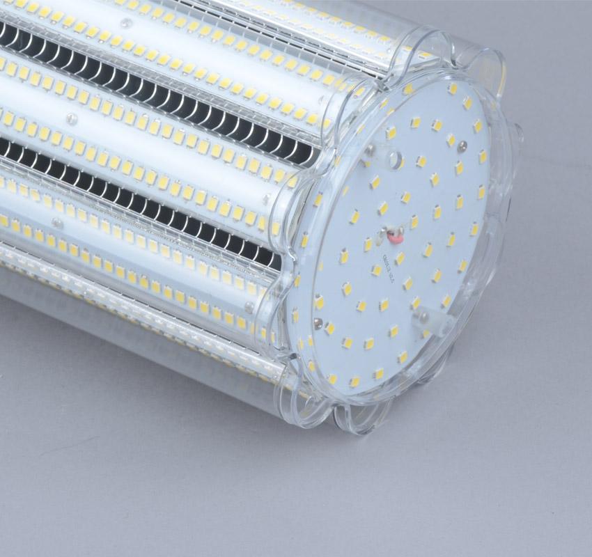 150W LED Corn Bulbs AC 347V 480V 19,500Lm 130Lm/W Equal 500W HID